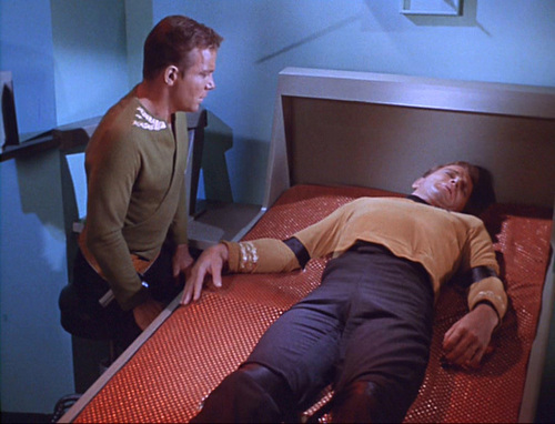 Image result for the enemy within star trek