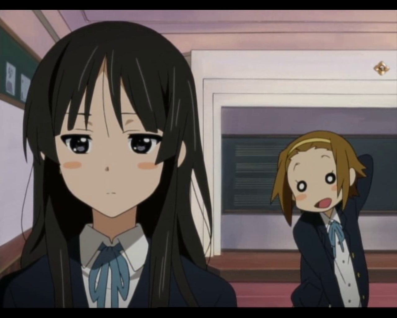 Image result for mio and ritsu