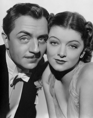 Myrna Loy and William Powell  - classic-movies Photo