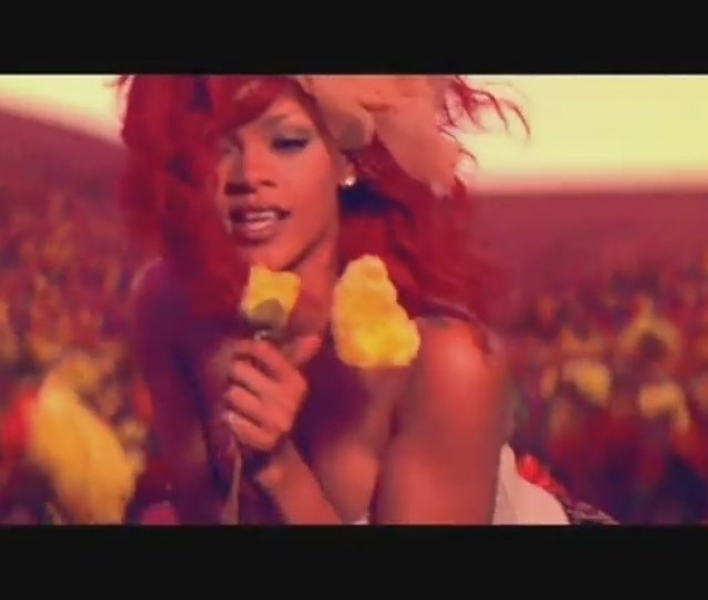 Music Videos Images Only Girl In The World Music Video Hd Wallpaper And Background Photos