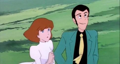 Clarisse et Arsène Lupin dans Le Château de Cagliostro de Hayao Miyazaki (1979)