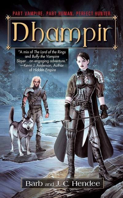 Dhampir US Cover Magiere, Leesil and Chap - saga-of-the-noble-dead Photo