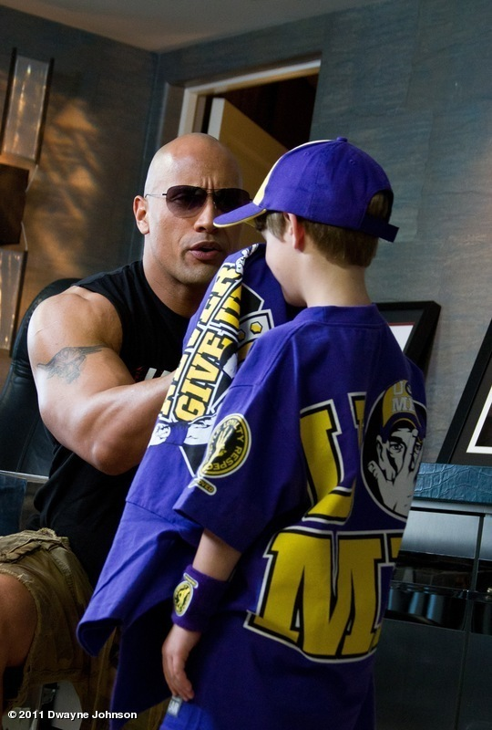 Rock and Lil Cena