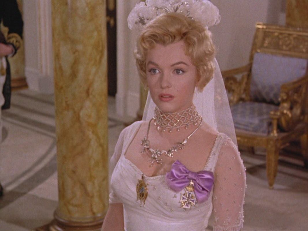 Marilyn Monroe in The Prince and the Showgirl (Der Prinz und die Tänzerin) 1957