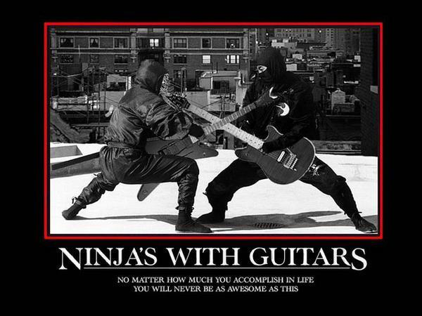 Breakdancing Fun Size Ninja Dorks Images Ninja Guitar Awesomeness XD Wallpaper And