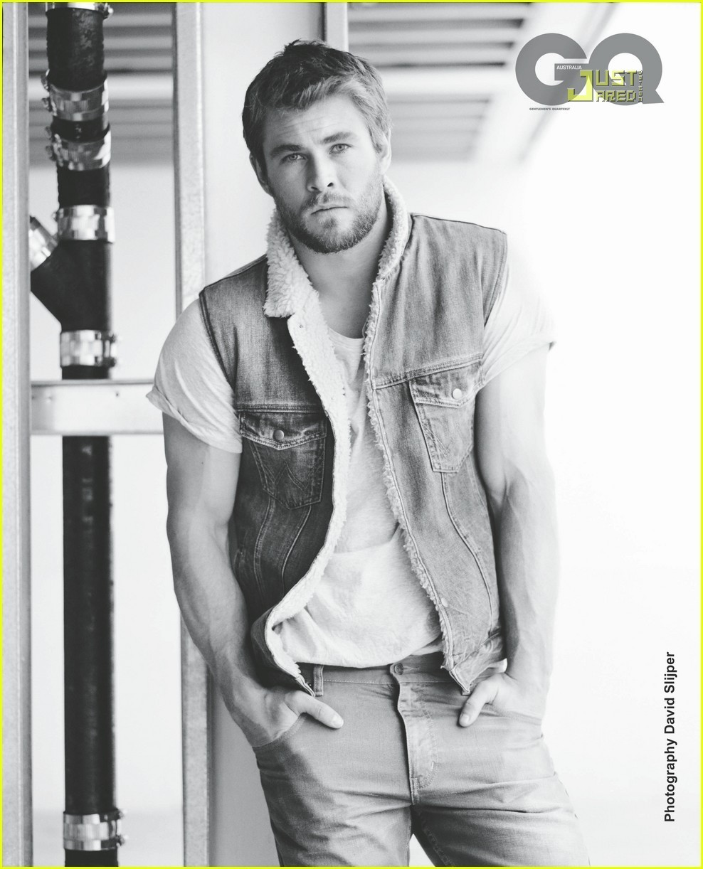Chris Hemsworth Covers 'GQ Australia' May 2011 - chris-hemsworth photo