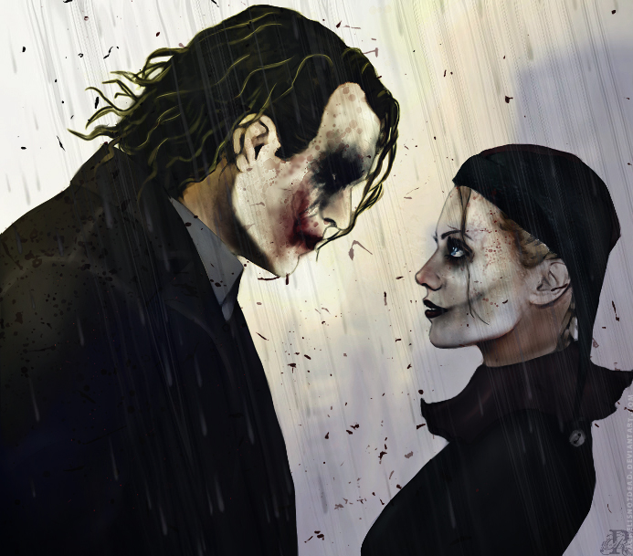 When Skies Are Gray - the-joker-and-harley-quinn fan art