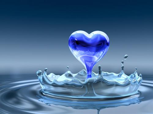 Image result for blue heart