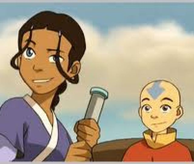 Avatar The Waterbending Scroll Images Katara Aang Wallpaper And Background Photos