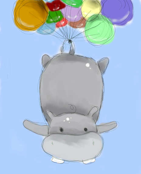 Image result for cute hippo phone wallpaper