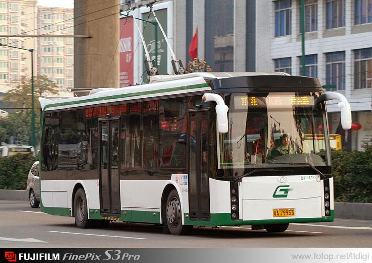 廣州電車/廣州第一巴士.駿威GZ5110 - hkitalk.net 香港交通資訊網 - Powered by Discuz!
