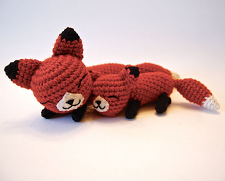 amigurumi foxes to crochet