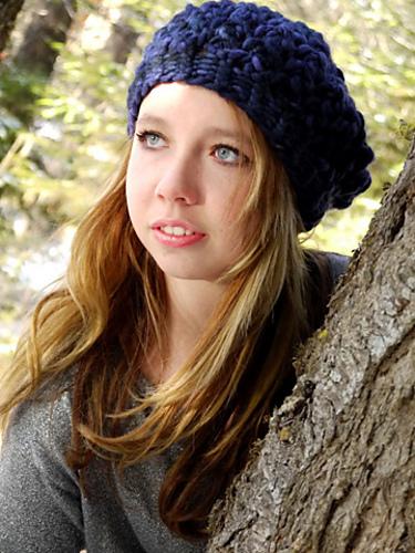 Birdseye beret © Brittany Tyler