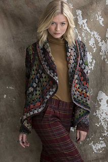 Noro Granny Square Jacket