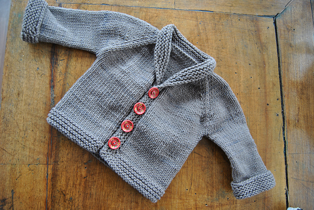 Baby Sophisticate by Linden Down Cardigan