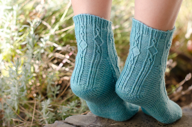 Wrought Socks by Stephannie Tallent © Kathy Cadigan