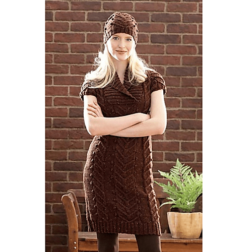 http://www.ravelry.com/patterns/library/cable-dress