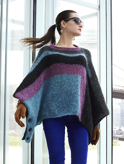 Amanda Keep's Side-Button Cape