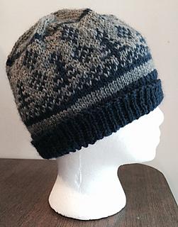 Winter's Morn Fair Isle hat