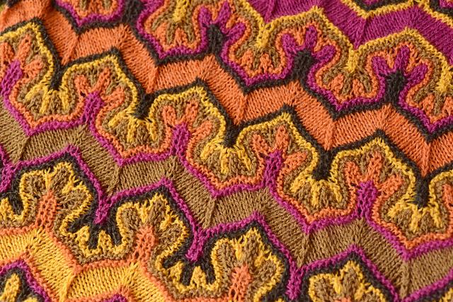 Fox Paws - knit pattern