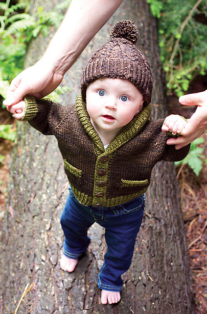 Fresh Sweater Techniques Series – Gramps Baby Cardigan – 1/6  ME43