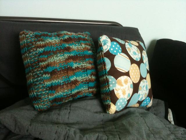 Super cute chunky baby pillows