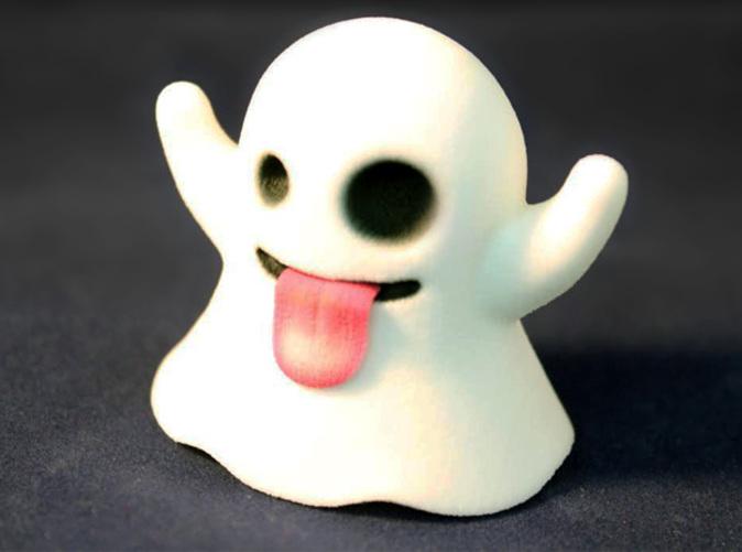 Ghost Emoji Figurine QDN3HZA8Q By EricHo