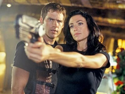 Crichton and Aeryn