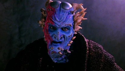 Dennis Ott as a horned alien Imvari
