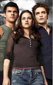 Jacob, Edward, and Bella