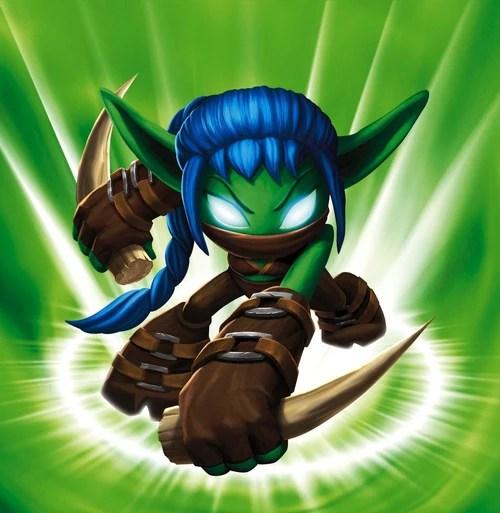 Skylanders Giants Stealth Elf