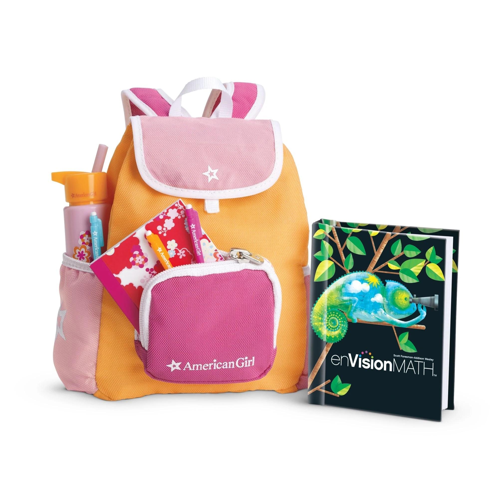 School Backpack Set Ii