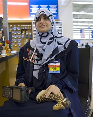 DEARBORNISTAN, MICHIGAN WAL-MART features hijabed salesgirls and halal food, but dont expect them to speak English there