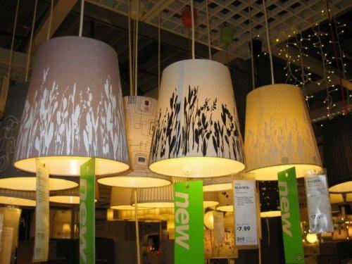 Ikea Klavsta lamp shade