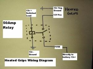 heated grip wiring  Stromtrooper Forum : Suzuki VStrom