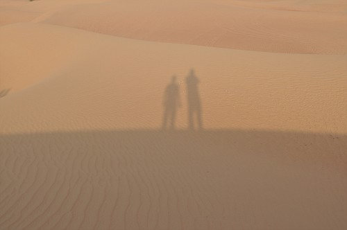 out in the Arabian Desert
