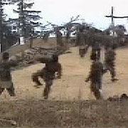 Combat training in the mountains of Pakistan