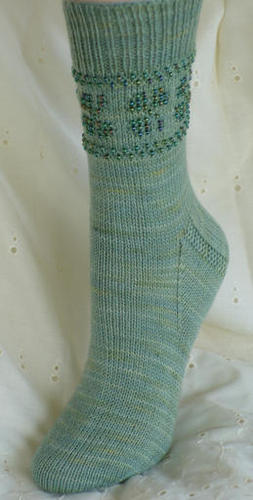 Socks for those that love beading, too!