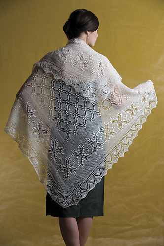 A truly stunning piece of lacework.  Totally worth the cost of the book, trust me!