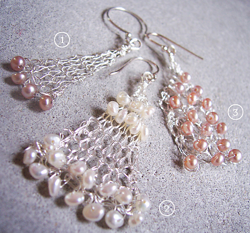 * Oooooh, earrings to match the rest of the jewelry!!  :)