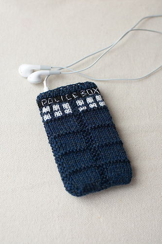 * iPod cozy!  I just might have to make this one.  ;)