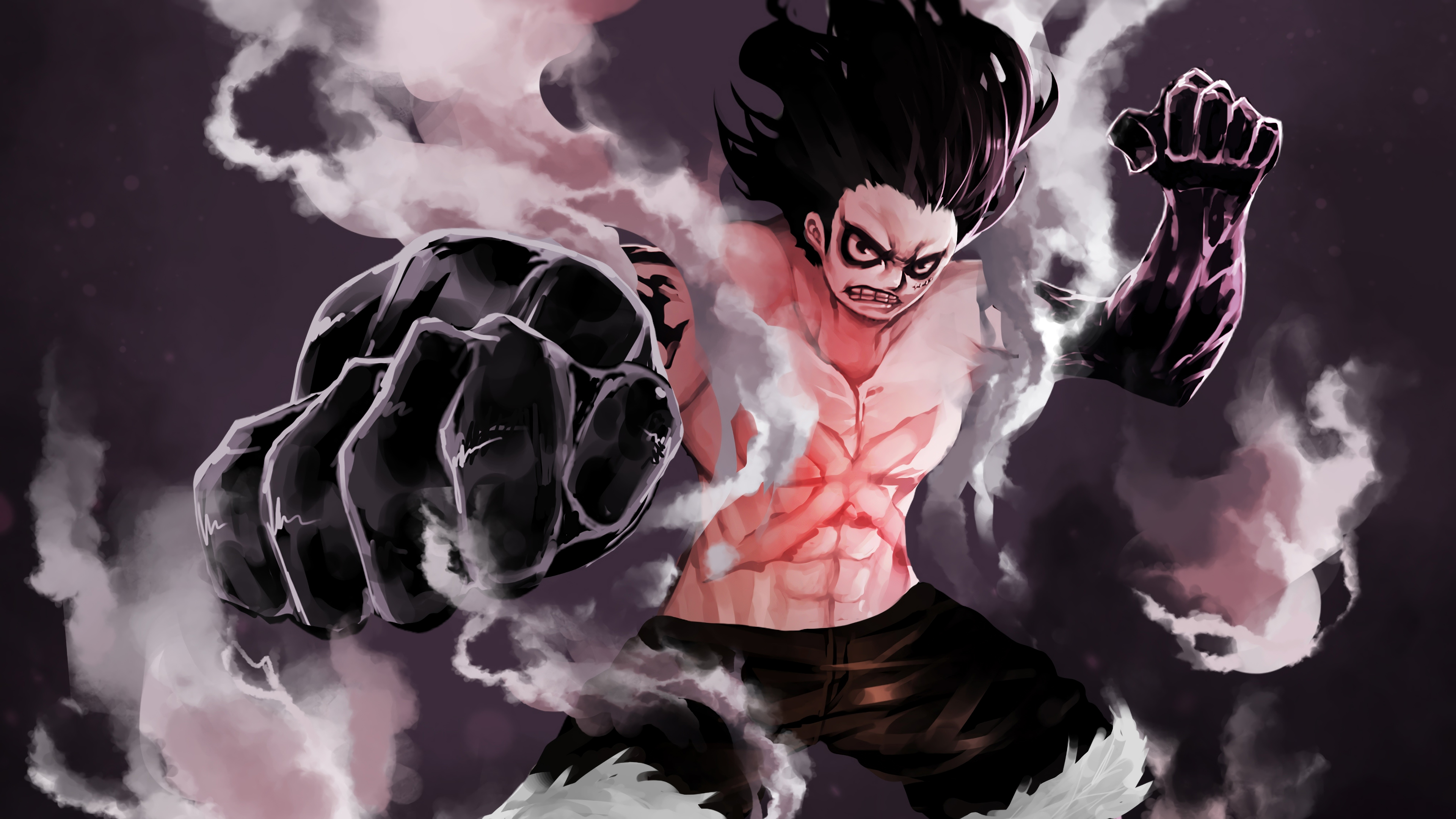 It all depends on if oda chooses to create an additional side effect to snakeman, apart from the 10 minute haki pause. Luffy Gear 4 Snakeman 4k Ultra Hd Wallpaper Background Image 3840x2160
