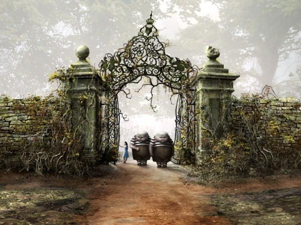 Tim Burton's Alice in Wonderland Wallpaper and Background ...