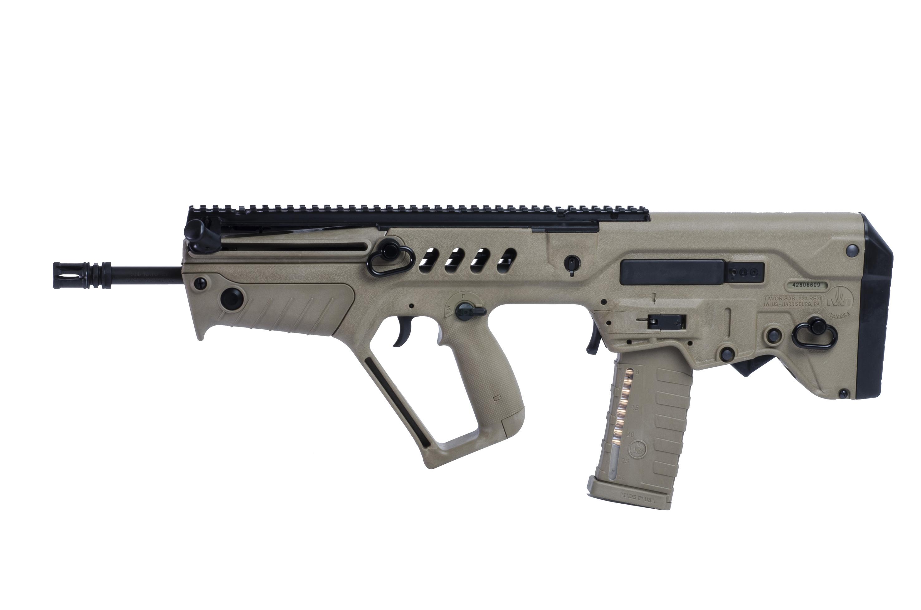 Tavor Assault Rifle Hd Wallpaper