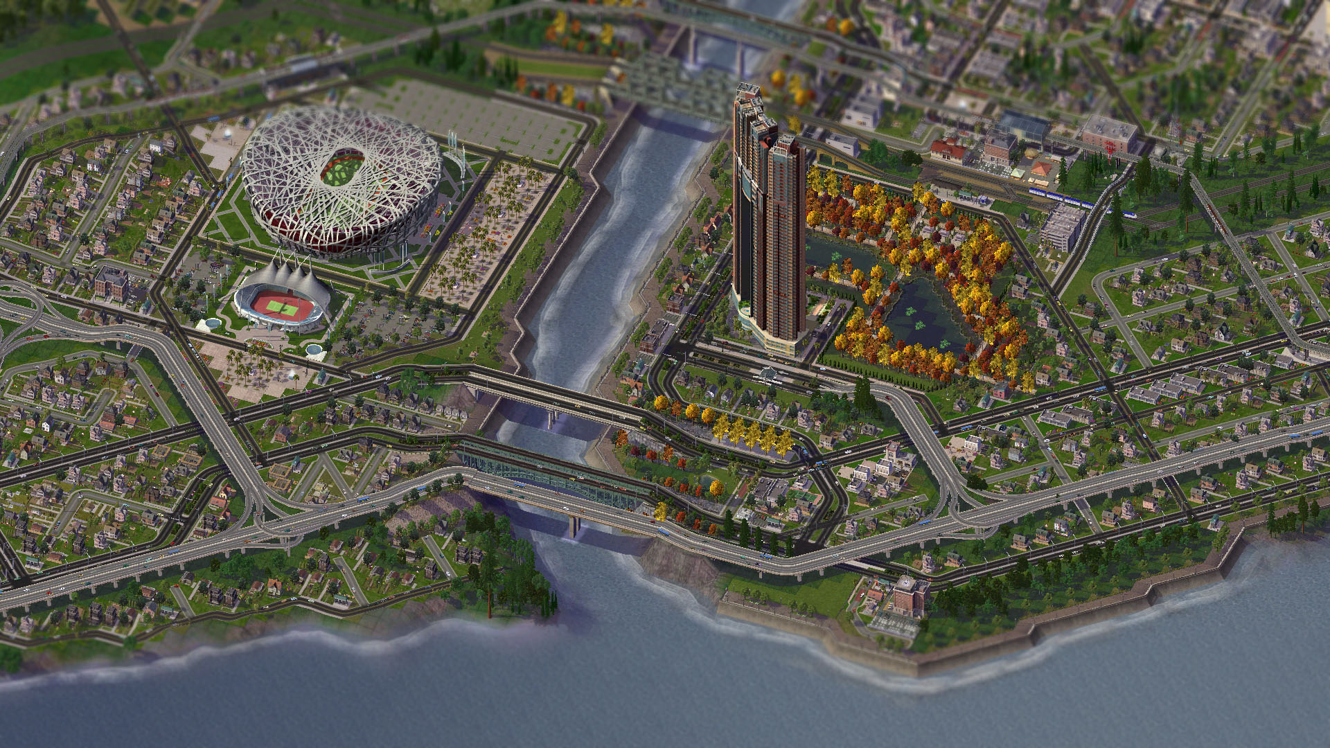 2 Simcity 4 HD Wallpapers Background Images Wallpaper