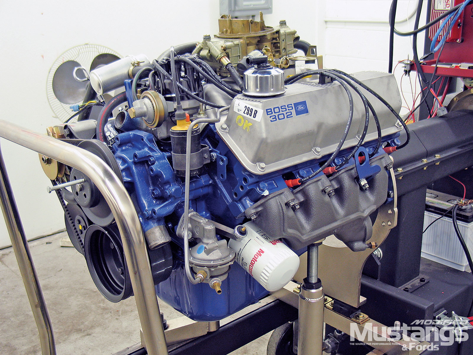 1 Ford 302 Engine HD Wallpapers Background Images