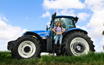 5 New Holland Tractor HD Wallpapers Background Images
