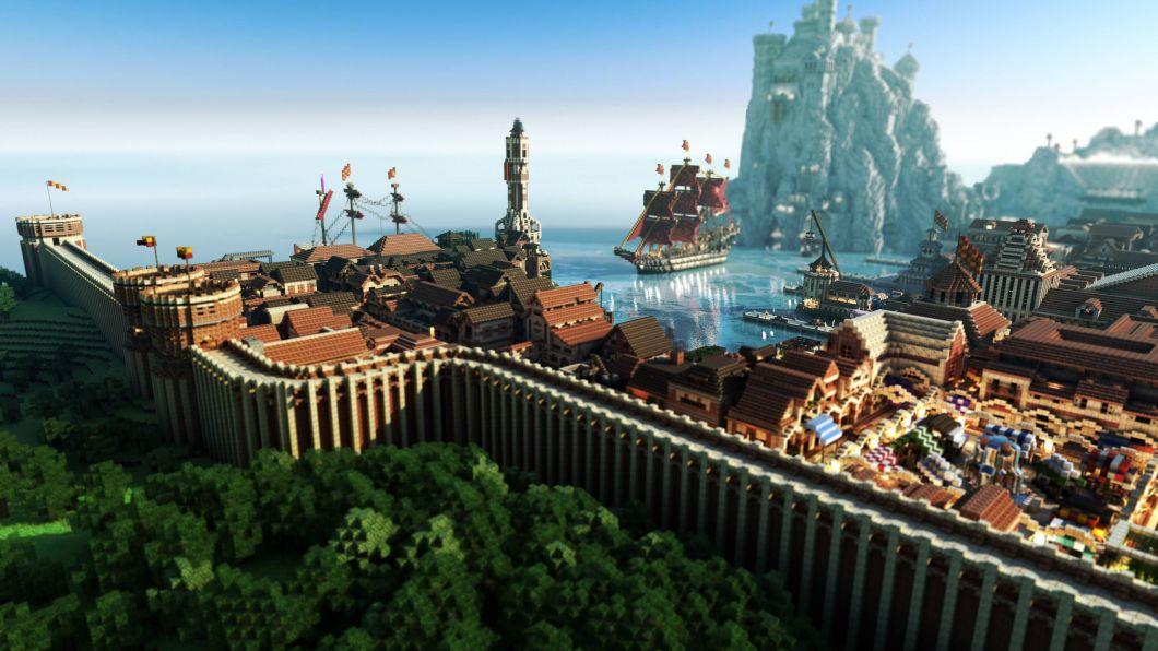 Minecraft Background 4k Wallpaper Bestpicture1 Org
