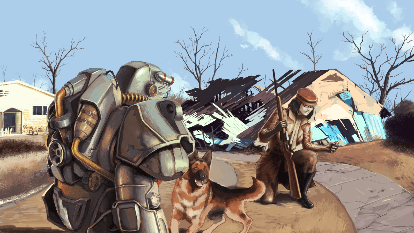 Fallout 4 Wallpaper And Background Image 1600x900 ID783133 Wallpaper Abyss