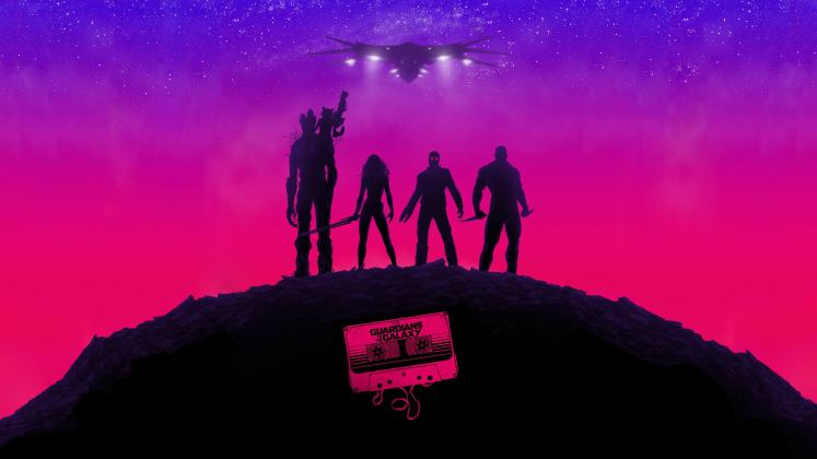 Risultati immagini per guardians of the galaxy wallpaper